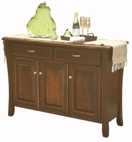Dining Room Sideboards And Buffets: Amish Berkley Dining Room Sideboard Buffet Server