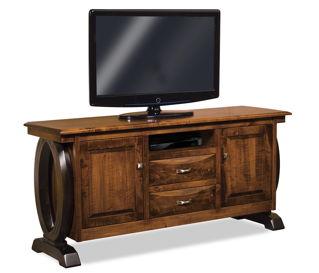 Amish Contemporary Saratoga TV Stand