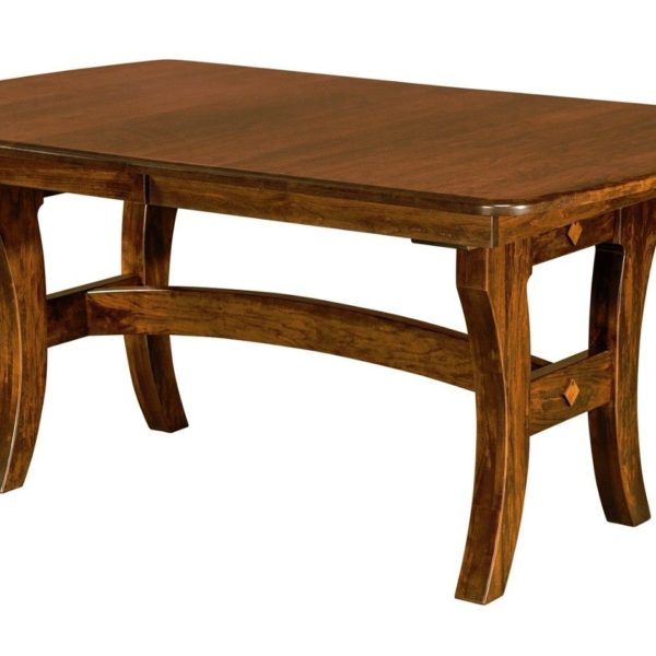 Trestle Table Amish Dining Room: Amish Abilene Trestle Dining Table