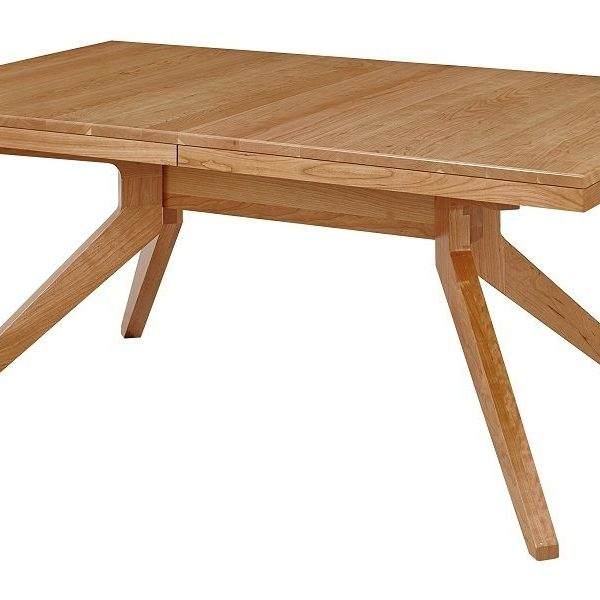 Trestle Table Amish Dining Room: Amish Sonora Modern Trestle Dining Table